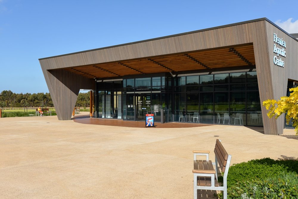 Vulcan Cladding - Fleurieu Aquatic Centre SA