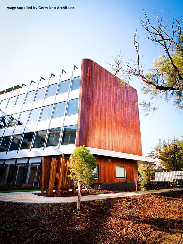 Western Red Cedar Cladding - Ronald McDonald House