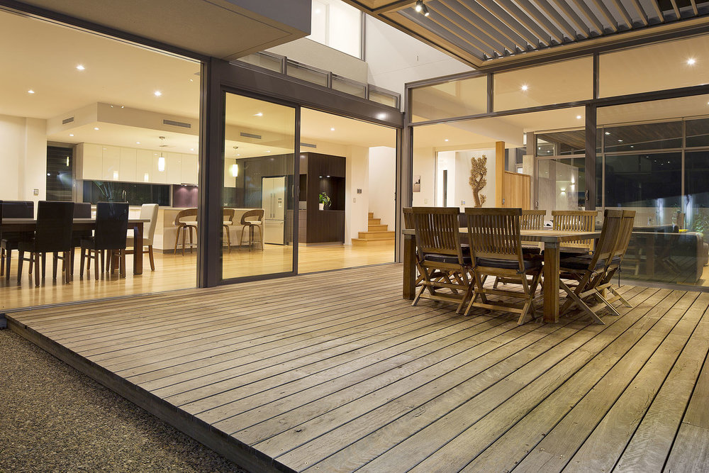 IronBark Decking - City Beach Residence