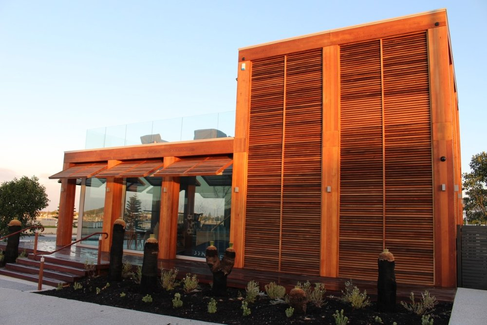 Jindee Sales Centre - Western Red Cedar