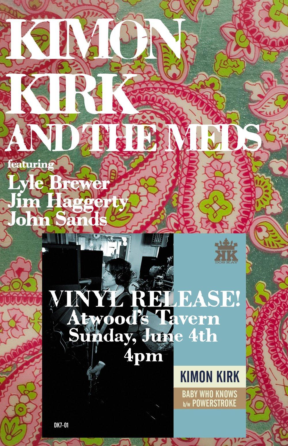 vinyl release poster