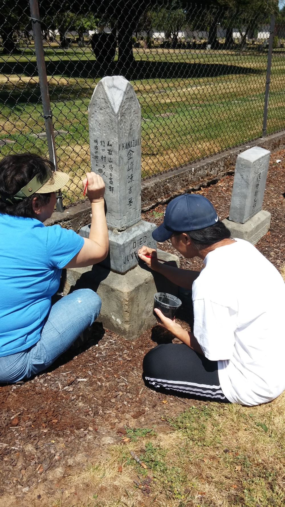Oregon Historical Cemetery Grant Project