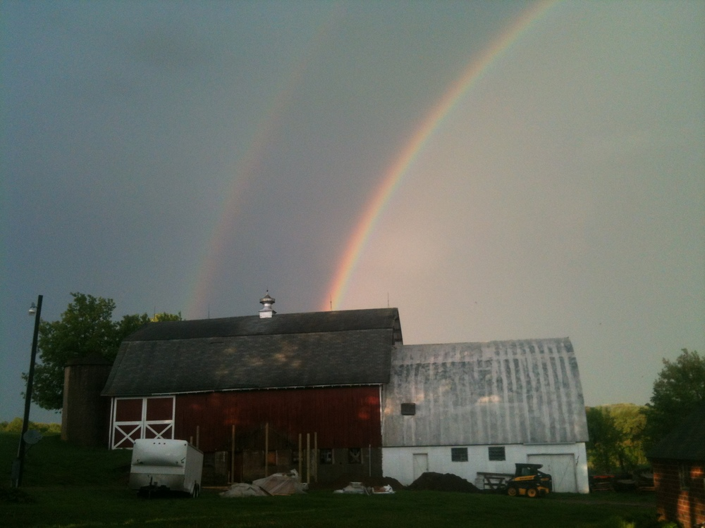 one more time... DOUBLE RAINBOW!