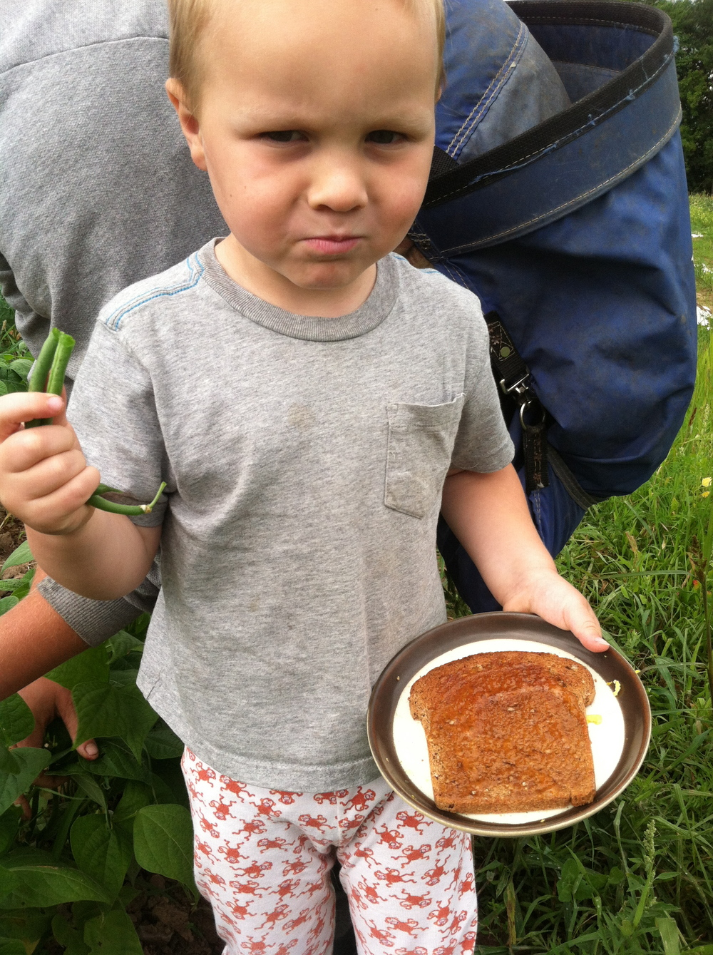 Otto's recipe for Jelly Beans: rub your greenbeans on your morning toast that has jelly on it.