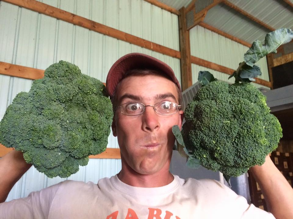 big ol'  broccoli!