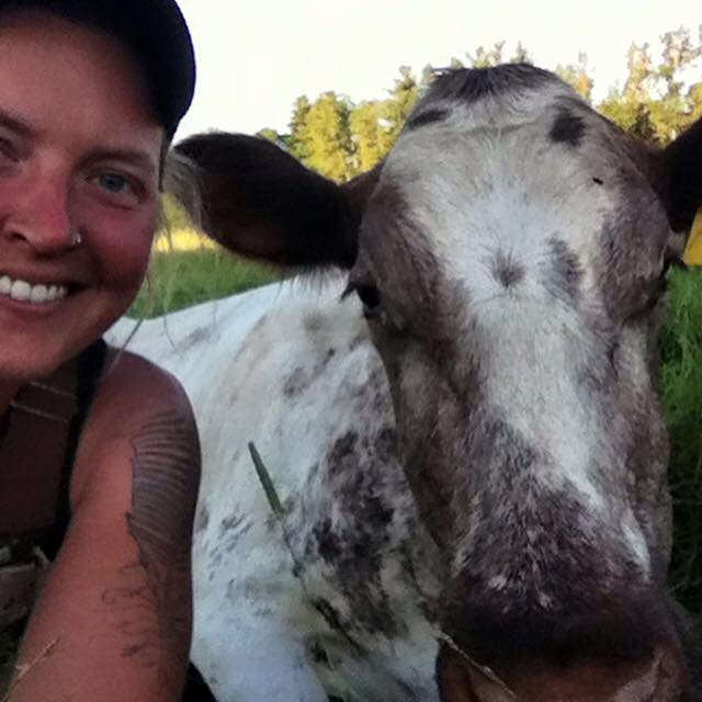 Liberty is our livestock manager aka keeper of farm beasts.  Here's a look at Liberty's crew