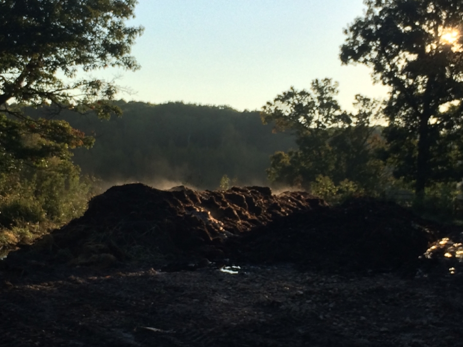 Beautiful Farm-made compost!