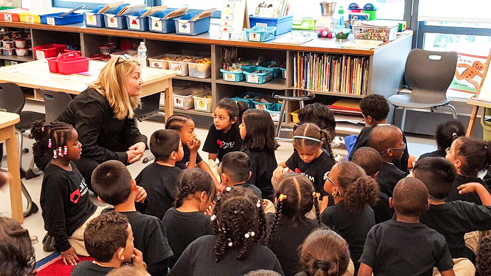 Talking to kindergarteners