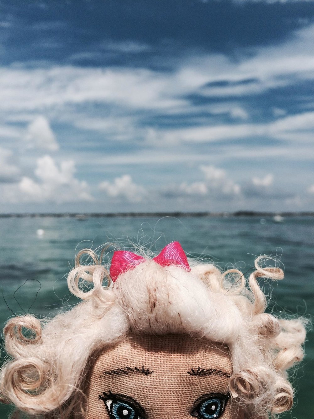 Sabrina having a great time watching the girls snorkel.jpg