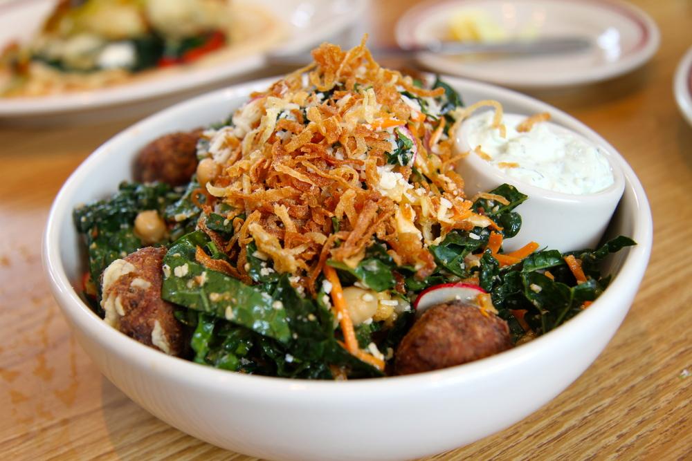 Chickpea Falafel Salad