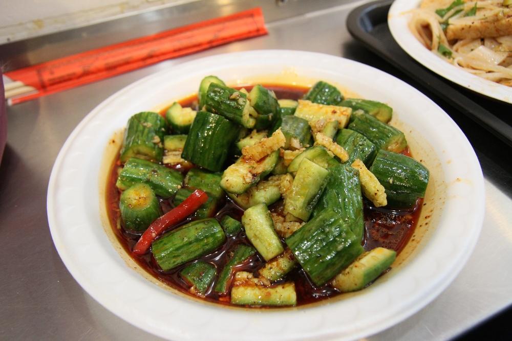 L2 Spicy Cucumber Salad
