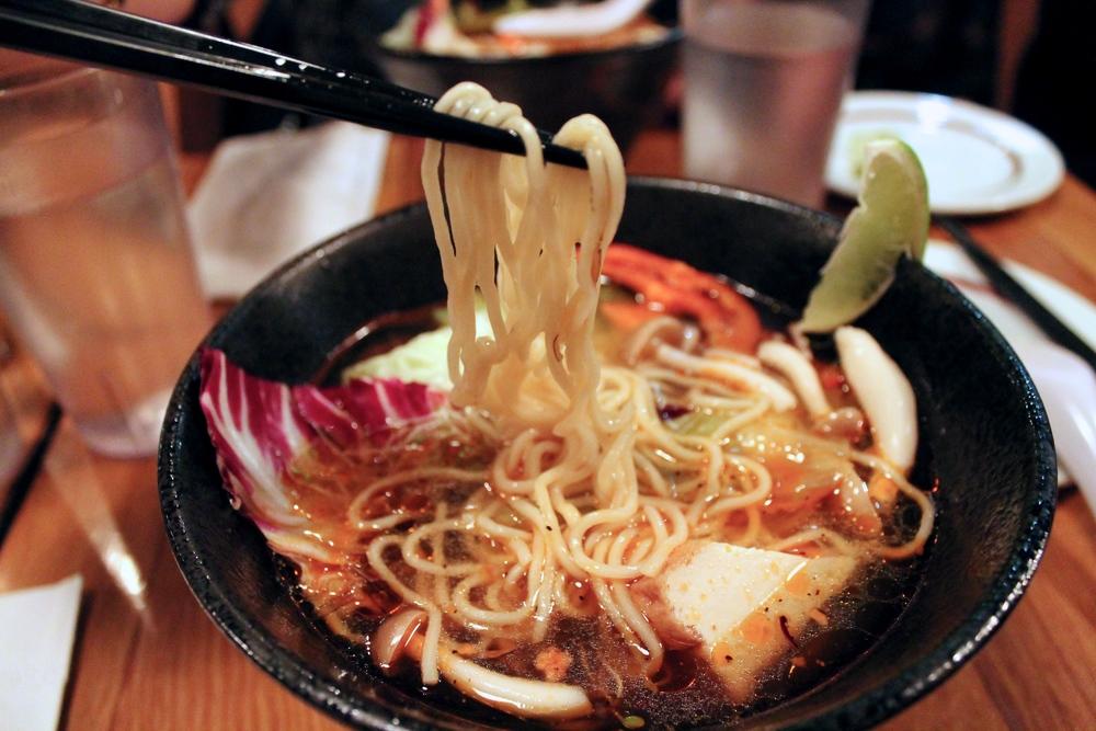 Spicy Veggie Ramen
