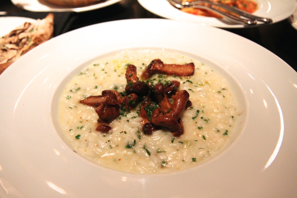 Chanterelle Risotto | Acquerello Rice, Crushed Herbs