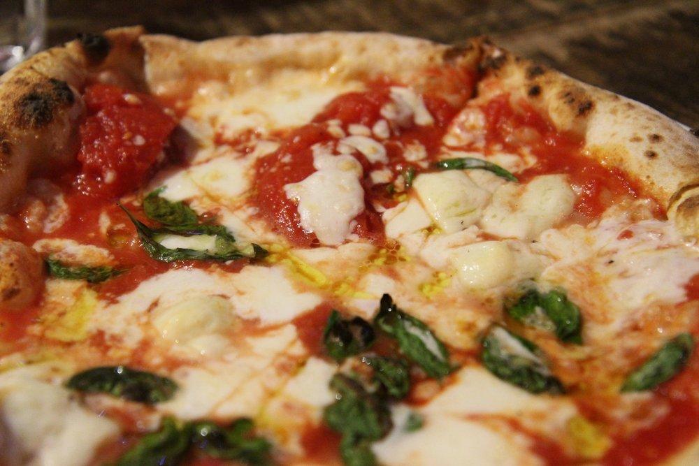 Regina Margherita D.O.C. | San Marzano tomato, buffalo mozzarella, basil and E.V.O.O