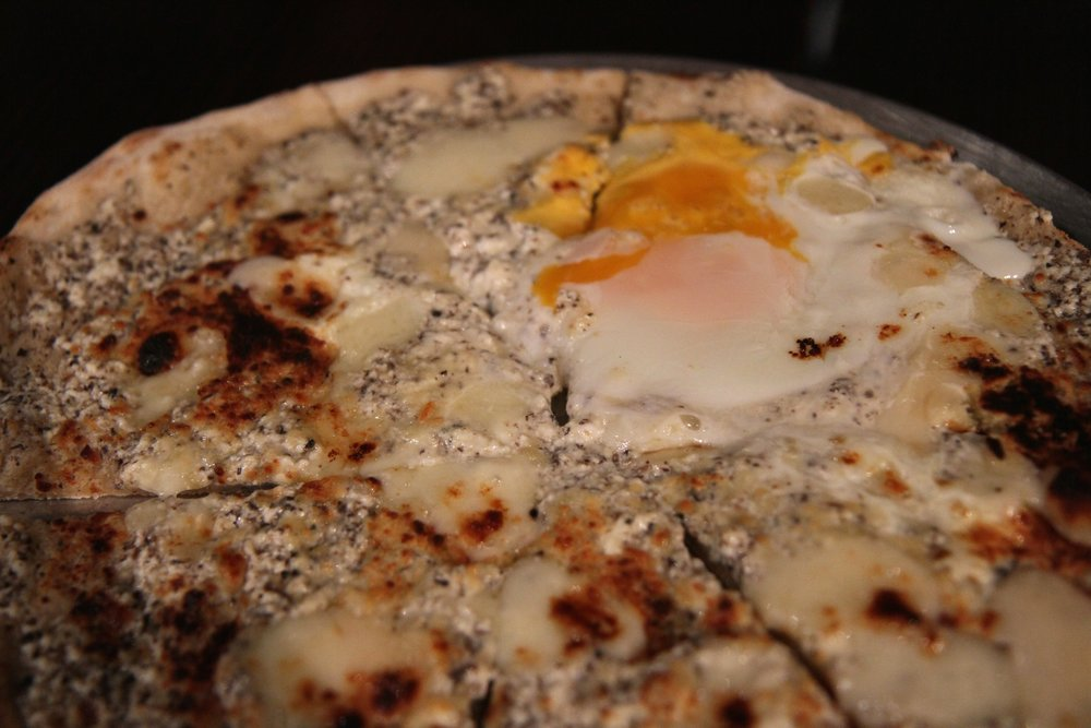 Tartufo Pizza | Black Truffle, Egg, Fontina (WOW!!!!)