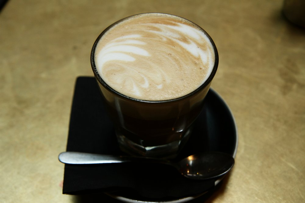Latte - absolutely delicious, the flavor was so rich!