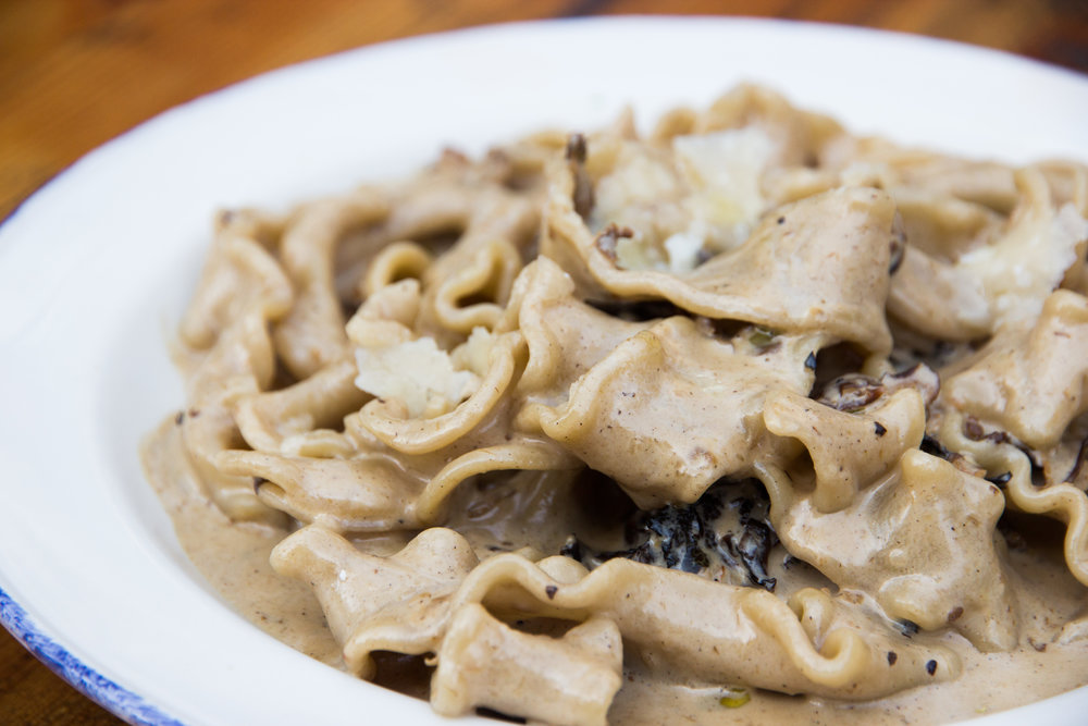 So much goodness in this pasta! I LOVE mushrooms!!!!!