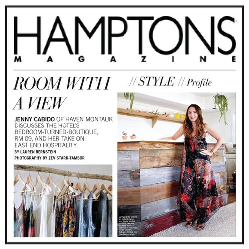 Hamptons Magazine | U.S | July 2015