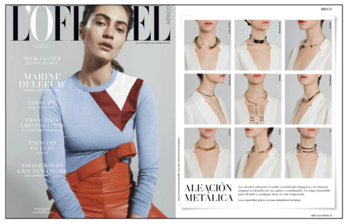 L'Officiel | Mexico | January 2015
