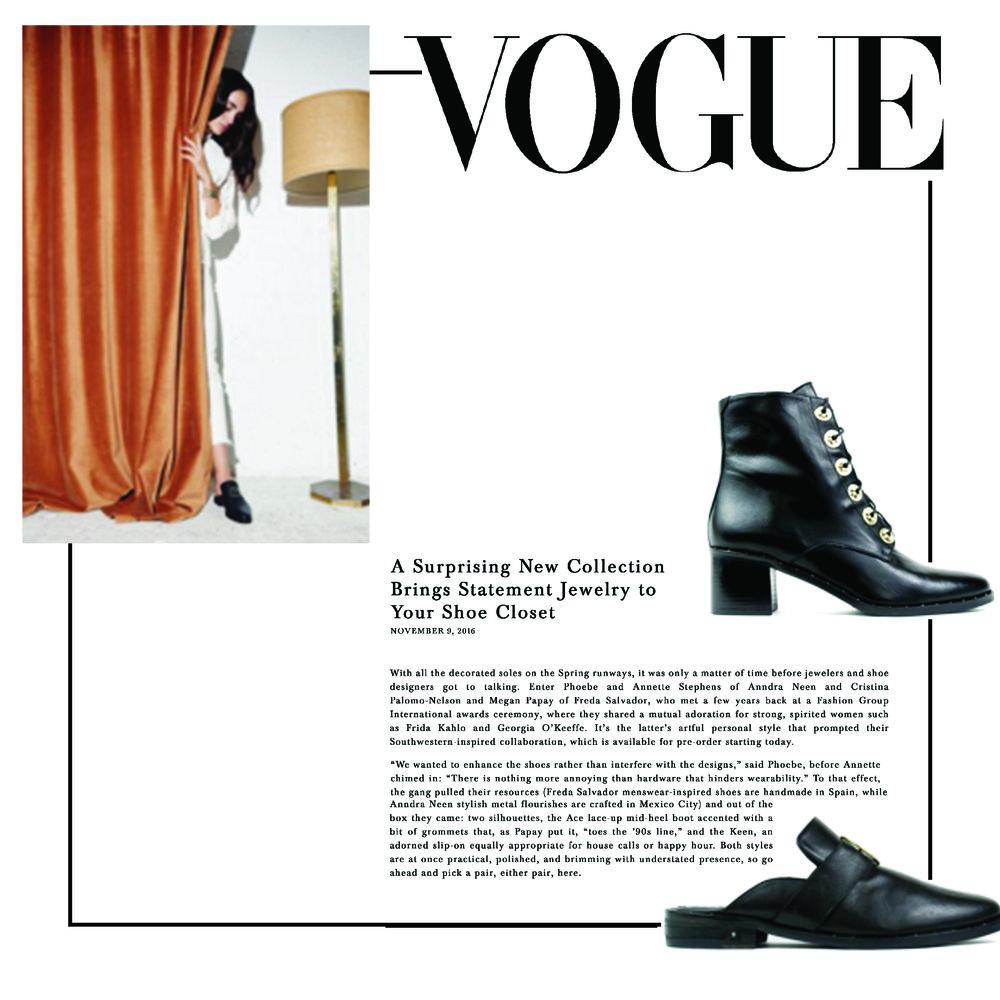 Vogue U.S | November 2016 | Anndra Neen