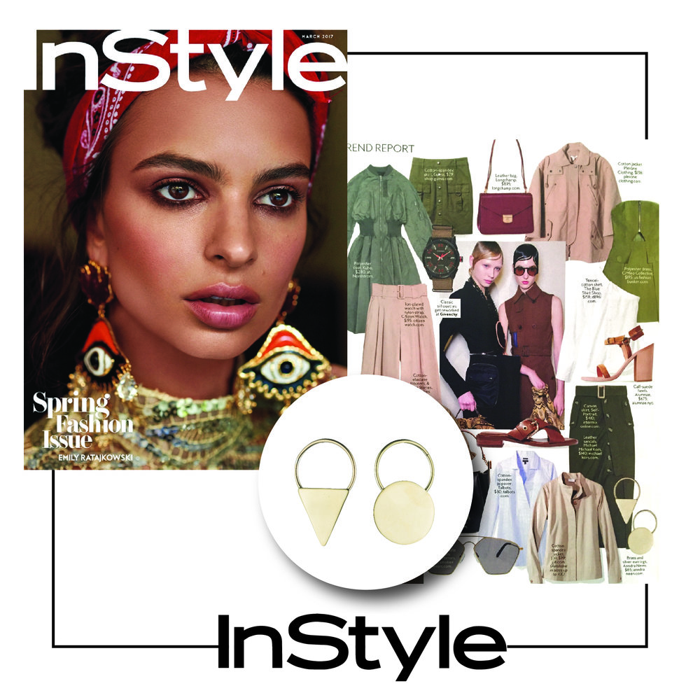 InStyle U.S |  March 2017 | Anndra Neen