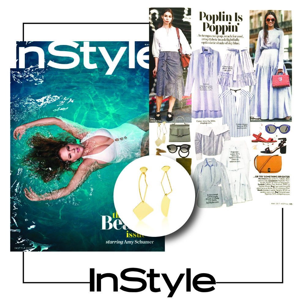 InStyle U.S | May 2017 | Liza Echeverry
