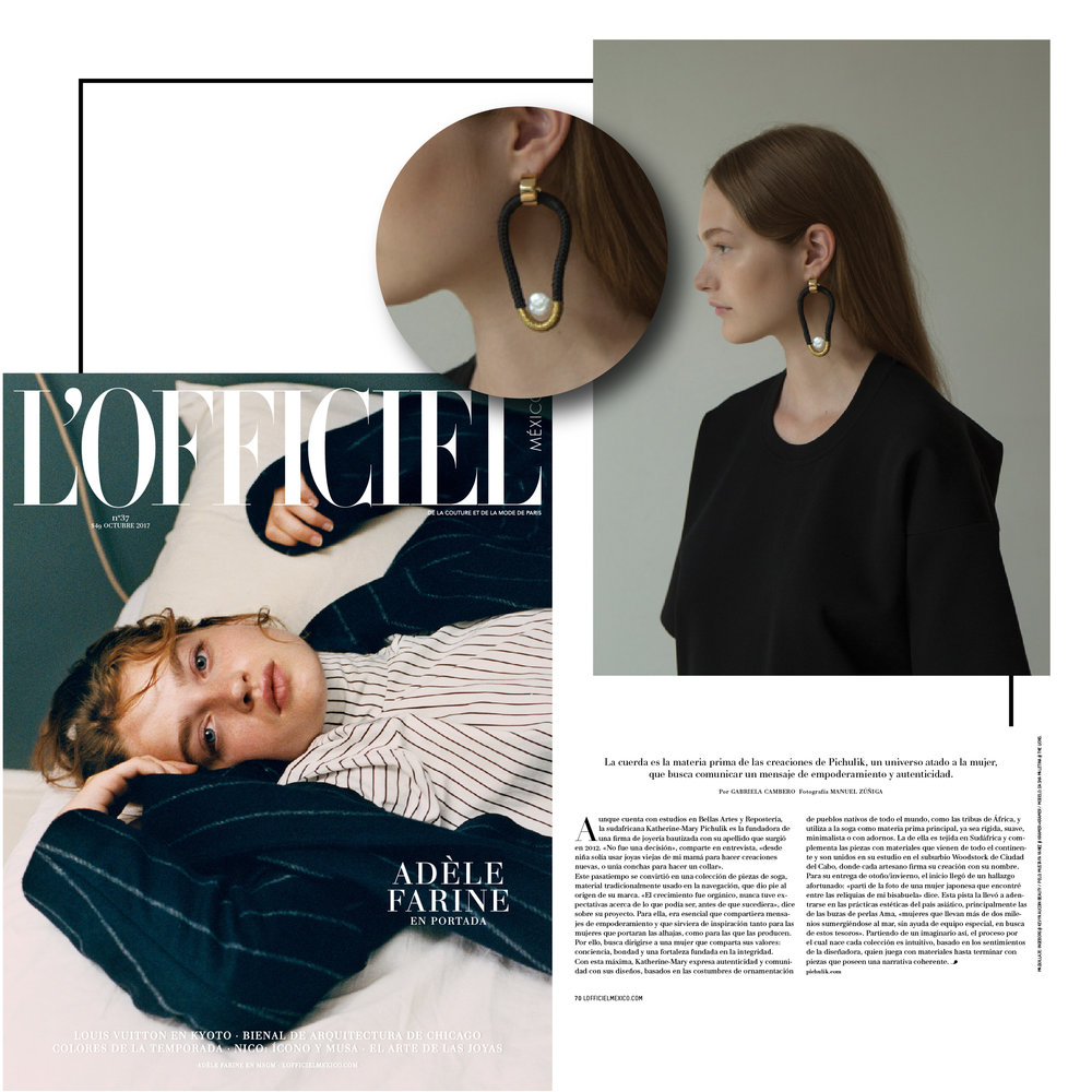 L'officiel Mexico | October 2017 | Pichulik