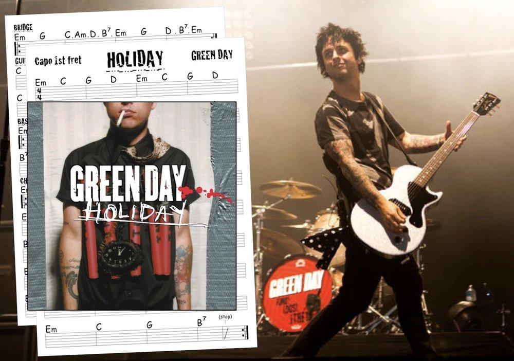 Inveralmond Guitar — GREEN DAY