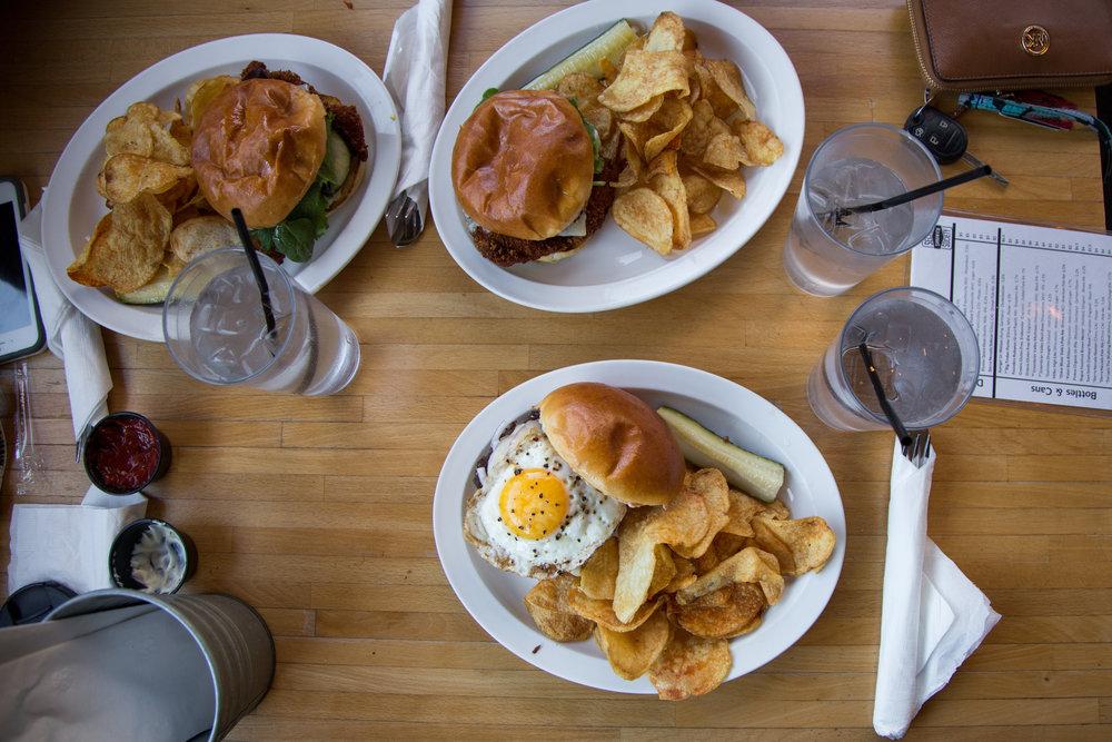 Lunch at Secret Sandwich Society