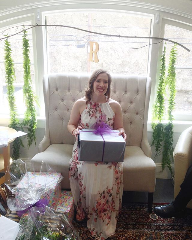 A beautiful shower on Saturday for this wonderful lady as she prepares to be a Mrs! ❤️ A huge thank you to everyone who contributed to making Susan feel so very loved! 💕 Love you to the moon and cannot wait to stand beside you and celebrate you and Jake! The countdown continues until we're dancing the night away! 💃🏻 🎉 😍