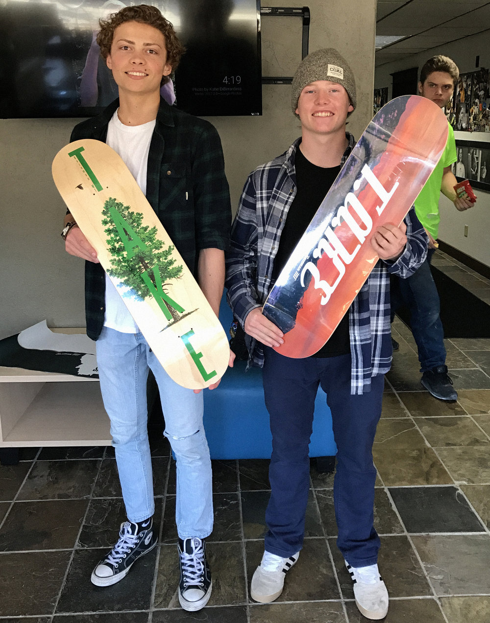 TAKE Skateboards. Bozeman, Montana grown. BYEP powered.