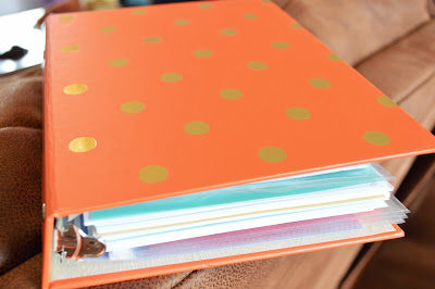 Love me some orange and polka-dots. This size is super-portable and convenient! It goes with me everywhere!!!