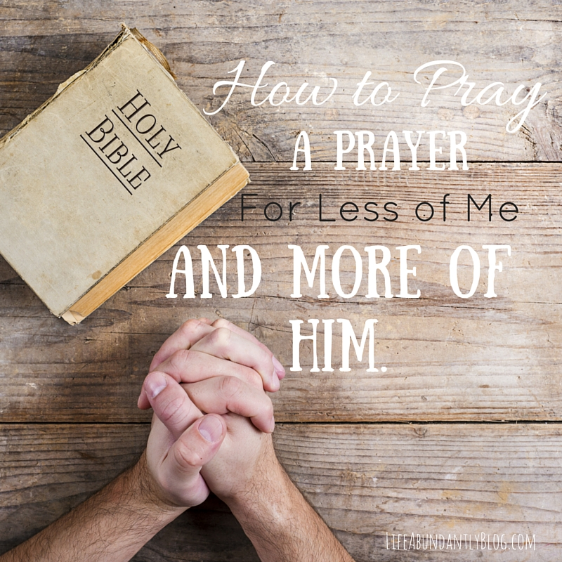 Praying a simple prayer to help us peel away the layers of ourselves and be filled instead by the holy spirit   Life, Abundantly