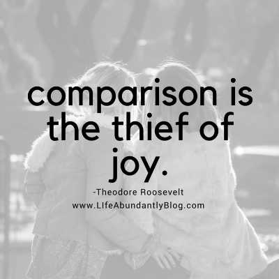 LIfeAbundantlyBlog.com When you want to quit homeschooling {Part 1} Comparison is the thief of joy...