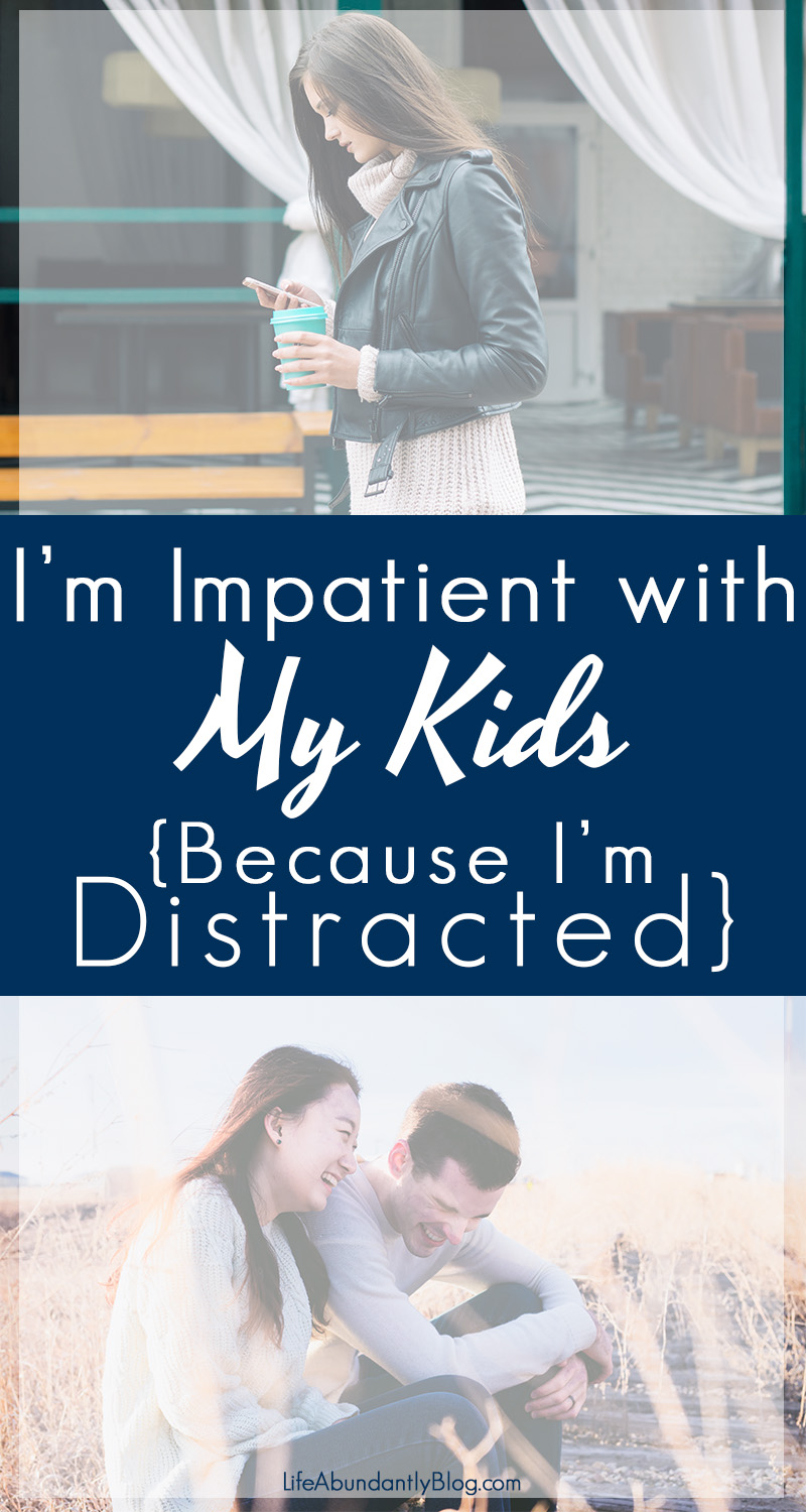 Do you struggle with having so many things on your to-do list, so many obligations, or with an overuse of social media? I do! And being constantly distracted with an overflowing mind means I'm irritable and impatient with my kids. Here are 4 Ways to keep the distractions to a minimum so you can be the attentive parent you wan to be.