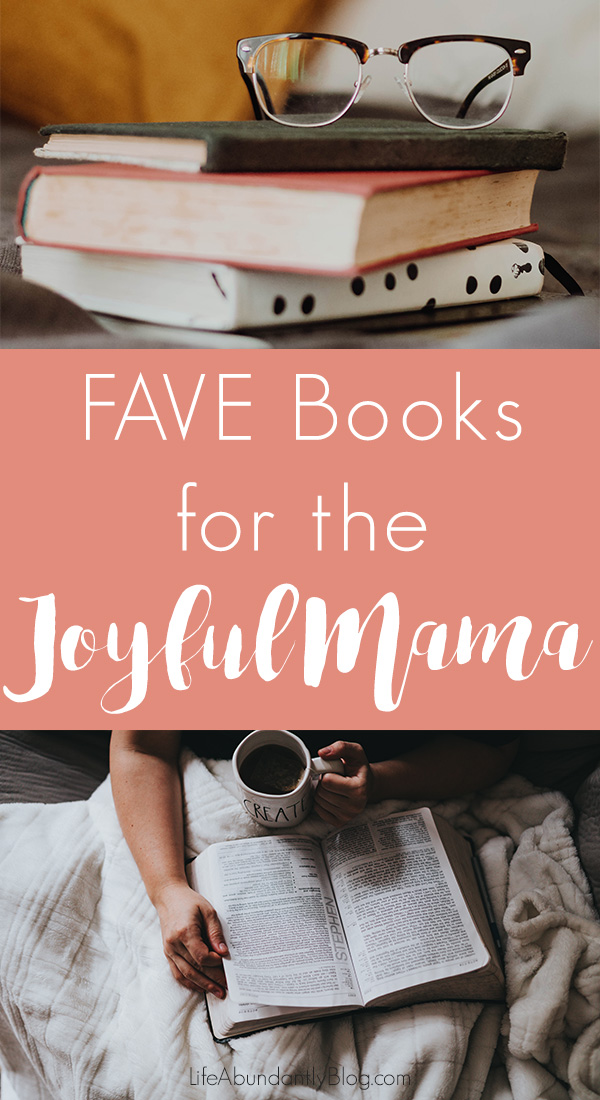 Looking for some great, passionate book recommendations for moms who love Jesus? This list has a fantastic review of 6 favorite books from a homeschool mom of 4.