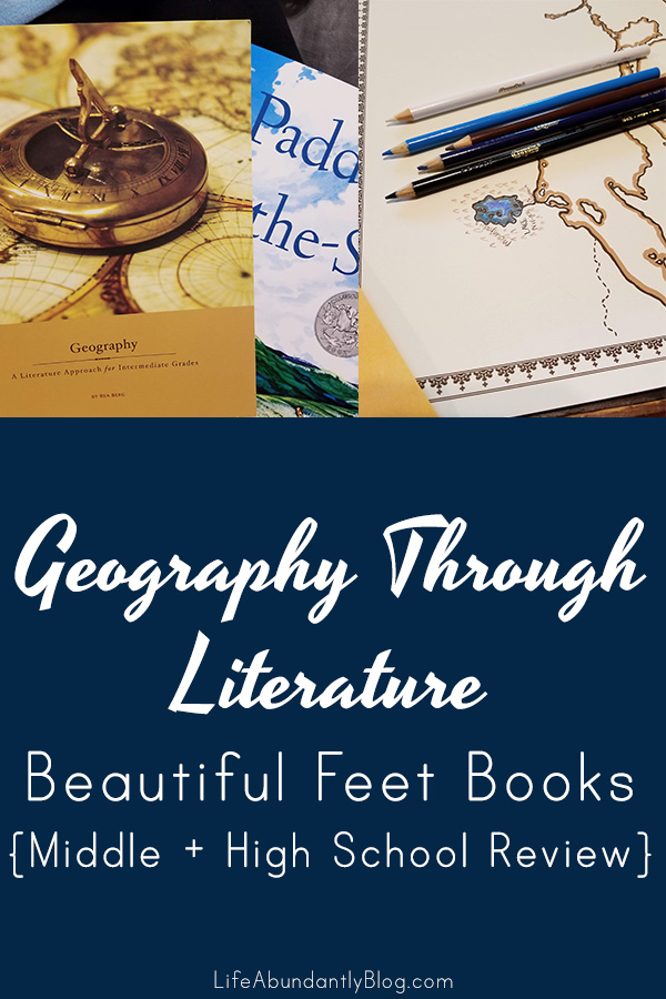 If you're looking for a review of Geography Through Literature from Beautiful Feet Books for Middle and High School, this is super helpful!