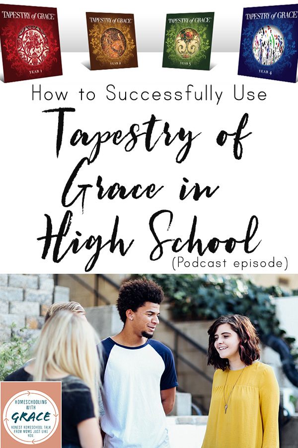 Listen to two average homeschool mamas chat about their love and usage of Tapestry of Grace, especially for their high school students. We chat about planning, implement, and making the decision to choose Tapestry of Grace for our families.