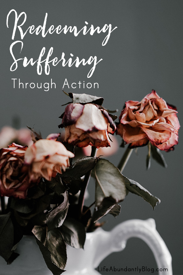 Sometimes it's just too much. Sometimes we receive more than we can handle and its absolutely overwhelmingly unfair. Suffering never feels ok- but despite that, we can DO something that helps us move forward. We don't have to be a victim to our circumstances.