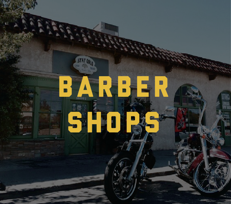 Learn more about our Barbershops.