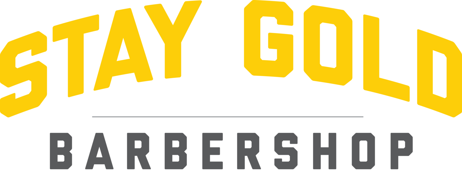 STAY GOLD BARBERSHOP