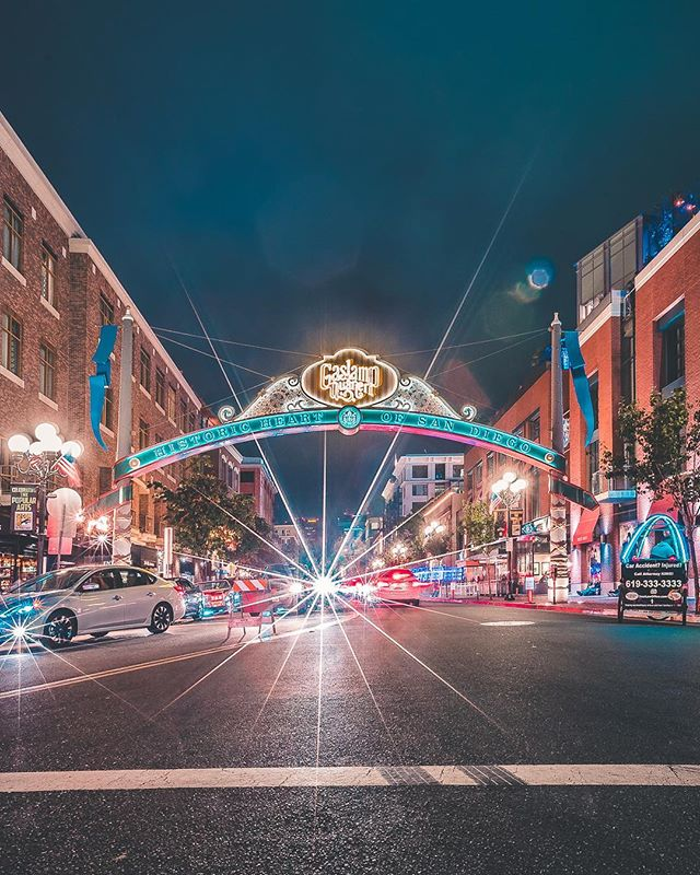"""Gaslamp Quarter  I'm having a huge print sale, this image and others. Use code """"summer"""" for a huge discount 🤘"""