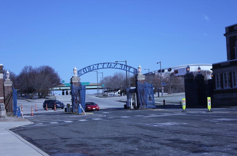 Gateway: Entrance of Navy Yard