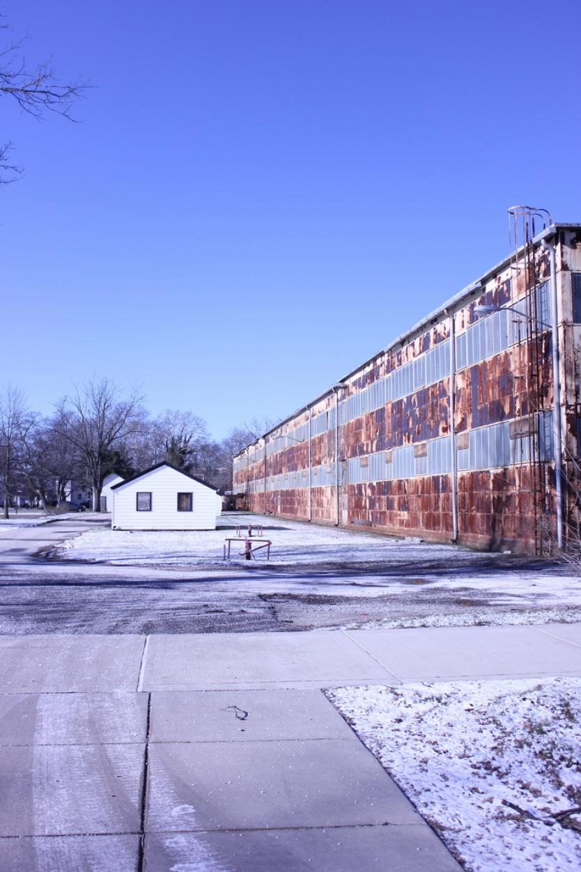 Industrial Ruins: Aging buildings revealing history