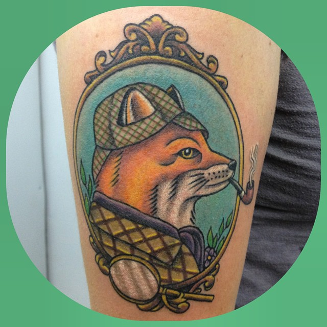 fox-animal-portrait-frame-ornateframe-detail-tattoo-LA-LosAngeles-besttattoo-besttattooartist-besttattooartists-top-pictures-images-photo-tat-ink-inked-jennifertrok-guestartist-rabblerousertattoo
