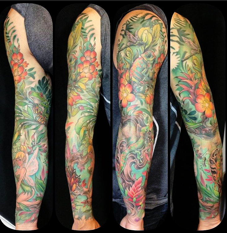 alayna_magnan_rainforest_reptiles_insects_leaves_sleeve_fullsleeve_tattoo_losangeles.jpg