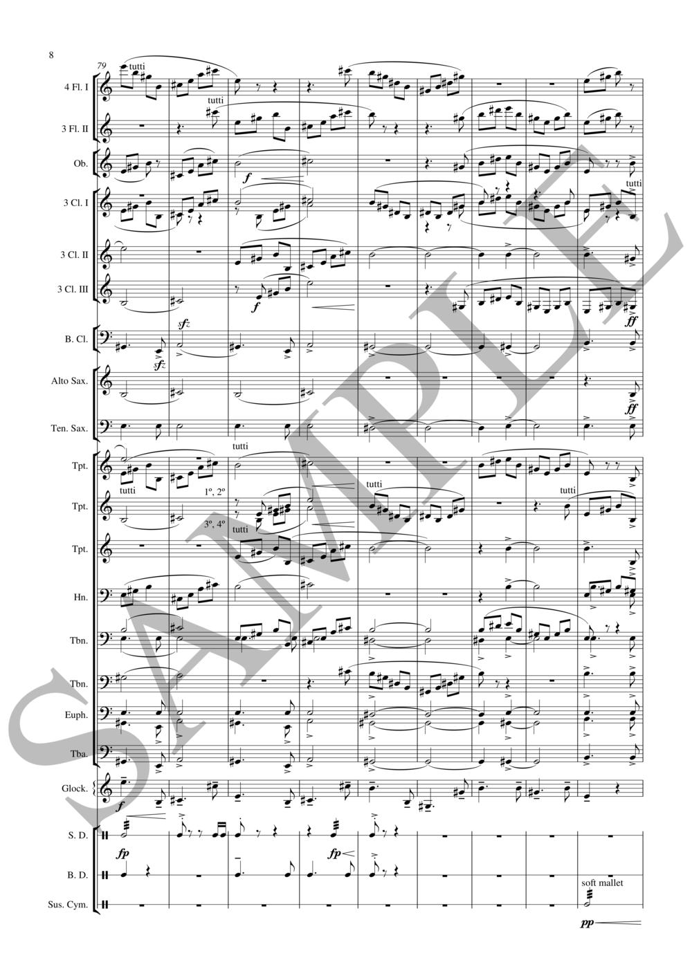 Century Schultz/arr. Cook combined ensemble SAMPLE