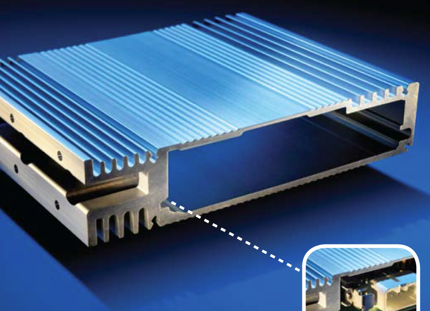 Heat Sink Amplifier