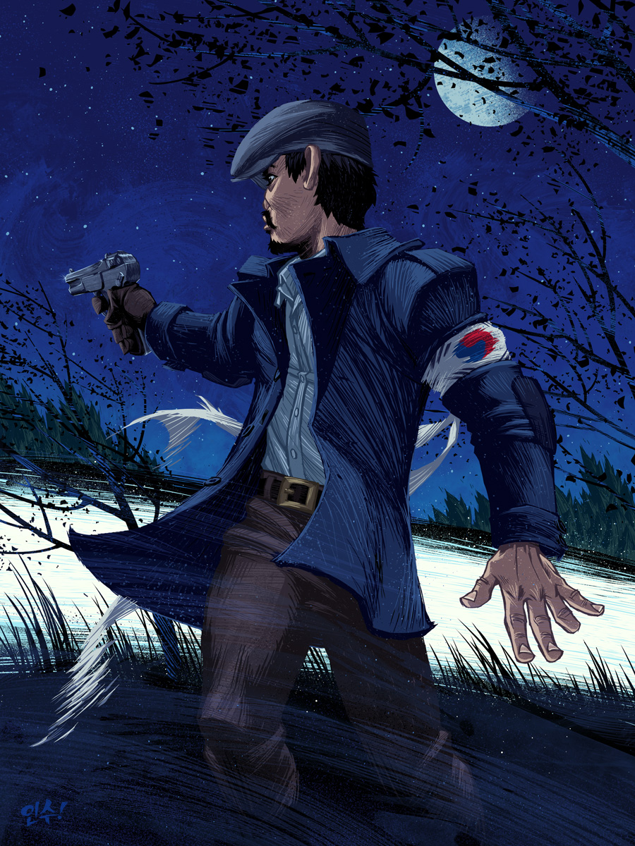 My take on Ahn Jung-geun (안중근), the legendary hero of the Korean Independence Movement.