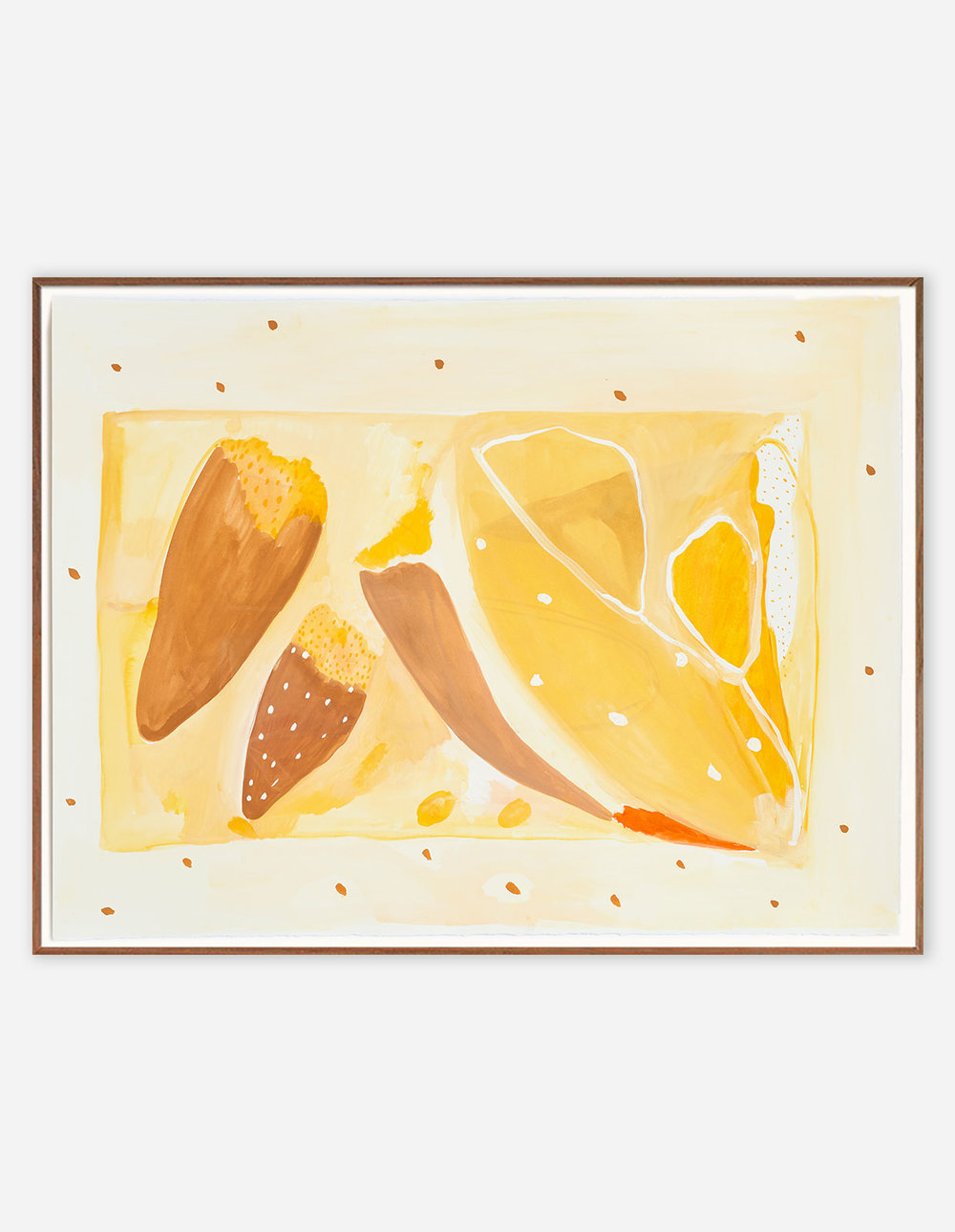 Daffodil, bankisa, home  1,100.00  58 cm x 76 cm Watercolour on archival cotton paper Timber and glass frame